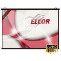 Elcor Map Type Projector Screen Size - 6 Ft. x 4 Ft. In Imported High Gain Fabric