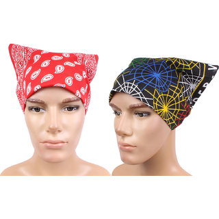 Sushito Set Of Two Multi Functional Headwrap JSMFHHR0189-FHHR0210