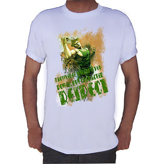 RESPECT Green T-shirt By Shopkeeda