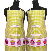 Designer Kitchen Apron  (set Of 2)
