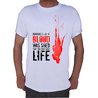 Blood T-shirt By Shopkeeda