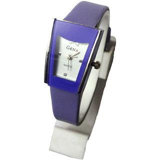 Genx Leather Wrist Watch For Women