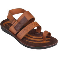 CLYMB IDEA-3 BROWN FLOATER SANDAL