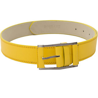 SkyWays subtle Quadra Buckle for Him in Sunshine Yellow (BLM-CLR-YLW)