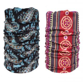 Sushito Combo Of Two Multi Use Bandana JSMFHMA0689-JSMFHMA0693