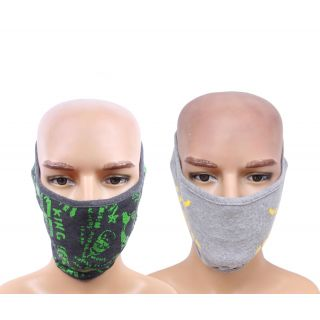 Sushito Set Of Two Sun Protect Ridding Face Mask JSMFHFM0542-JSMFHFM0548