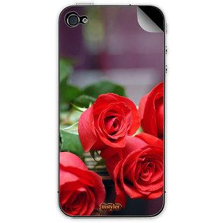 Instyler Mobile Skin Sticker For Apple I Phone 4 MSIP4DS-10081 CM-10001