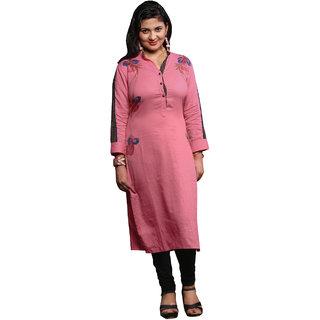 PARISHA Pink Printed Stitched Kurti KFFLWBD5011XXL