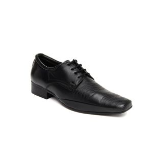Lee Cooper Men's Black Formal Shoes (Option 18)