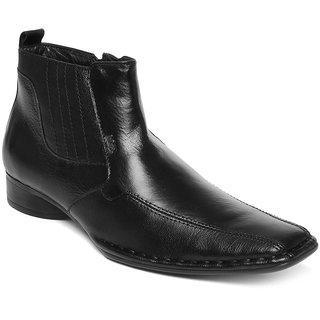Lee Cooper Men's Black Formal Shoes (Option 19)