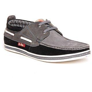 Lee Cooper Men's Grey Formal Shoes