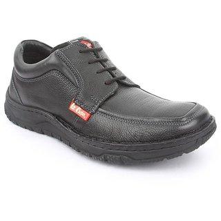 Lee Cooper Men's Black Formal Shoes (Option 20)