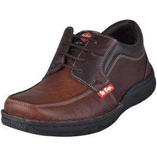 Lee Cooper Men's Brown Formal Shoes (Option 9)