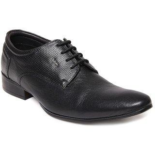 Lee Cooper Men's Black Formal Shoes (Option 22)
