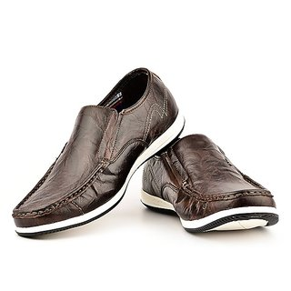 Lee Cooper Men's Brown Formal Shoes (Option 10)
