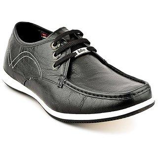 Lee Cooper Men's Black Formal Shoes (Option 24)