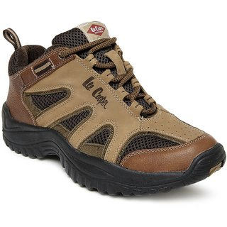 Lee Cooper Men's Camel Outdoor Shoes (Option 2)