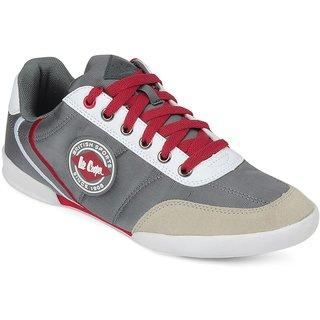 Lee Cooper Men's Grey Running Shoes