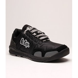 Lee Cooper Men's Black Running Shoes (Option 2)