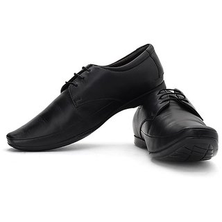Lee Cooper Men's Black Formal Shoes (Option 25)