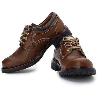 Lee Cooper Men's Tan Formal Shoes (Option 1)