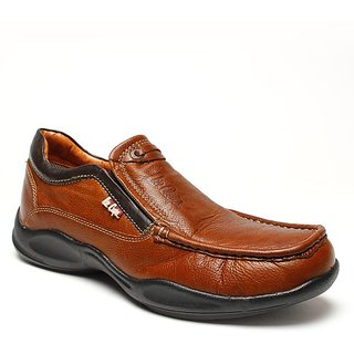 Lee Cooper Men's Brown Formal Shoes (Option 3)