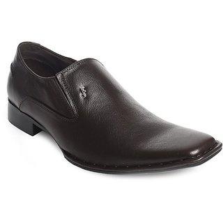 Lee Cooper Men's Black Formal Shoes (Option 6)