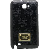 Snooky Black Hard Back Cover For Samsung Galaxy Note I9220 Td8700