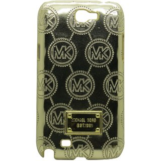 Snooky Golden Hard Back Cover For Samsung Galaxy Note 2 N7100 Td8705 available at ShopClues for Rs.325