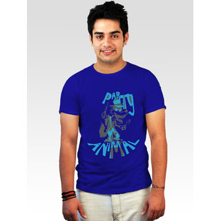Incynk Men's Party Animal Tee (Blue)