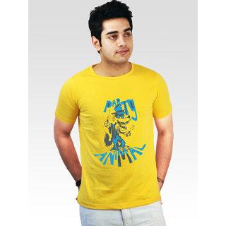 Incynk Men's Party Animal Tee (Yellow)