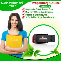 ICAR STREAM A 2017 Preparatory Course With 10 Model Papers (Pen Drive)