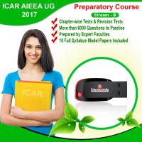 ICAR STREAM B 2017 Preparatory Course With 10 Model Papers (Pen Drive)