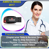 AMRITA MBBS 2017 Preparatory Course With 10 Model Papers (Pen Drive)