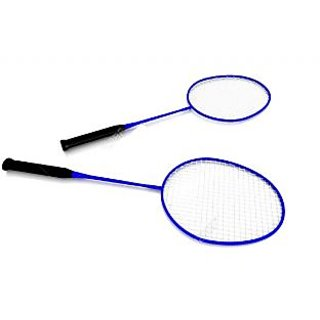 Badminton Racquet- Set of 2 (With Full Cover)- Assorted