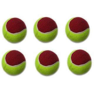 Cricket Tennis Balls (Pack of 6)
