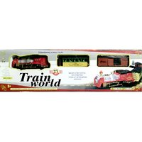 Battery Operated  Train World (27 Pcs)