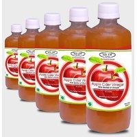 Sinew Apple Cider Vinegar With Mother Of Vinegar- 500 Ml Pack Of 5
