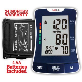 Healthgenie BP Monitor digital Upper arm BPM 03