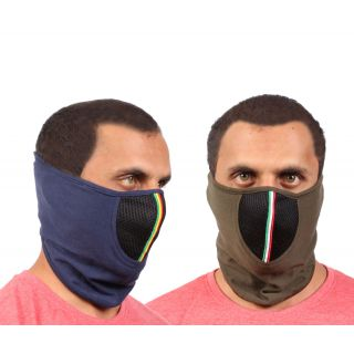 Sushito Set Of Two Dust Protect Racing Face Mask JSMFHFM0734-JSMFHFM0730