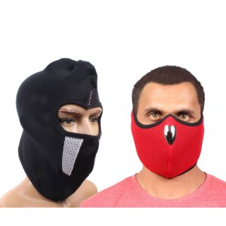 Sushito Set Of Two Dust Protect Racing Face Mask JSMFHFM0623-JSMFHFM0794