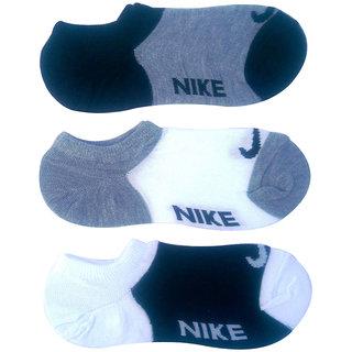 Unik 3 Pair Men Socks Loafer Ankle Cotton Socks