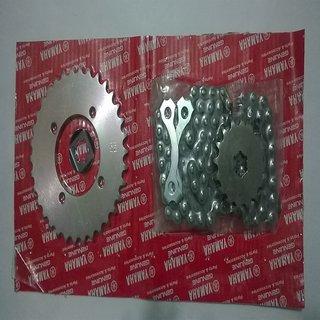 original rx135/rxz chain sprocket kit