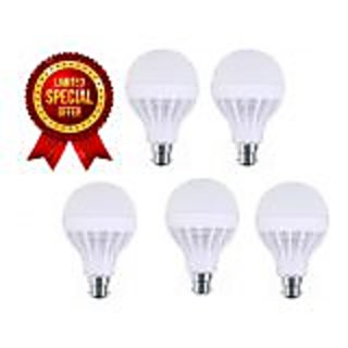 9w led bulbs(pack of 5 bulbs)