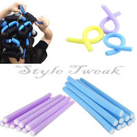 Amour Thick Foam Hair Curlers Rollers - Set of 7