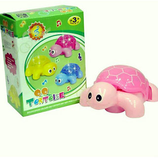 Tortoise turtle Flashlight Music Battery Power toy