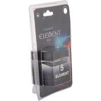 5 Element - Gel Based Car Air Freshener - Fragrance-KOAA Code-Black-60ml-AptElm05