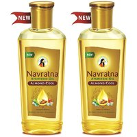 Navratna almond cool oil pack of 2 (100ml each)