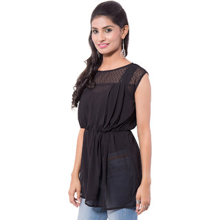 Viba London Solid  Top Black