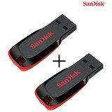 Sandisk 8GB Cruzer Blade Pendrive Pack (Combo of 2)